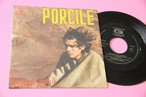 """BENEDETTO GHIGLIA 7"""" PORCILE ORIG ITALY 1969 NM OST FILM PASOLINI COLONNA SONORA"""