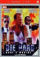 Die Hard Duri A Morire DVD J. Irons Bruce Willis S. Jackson Nuovo Sigillato