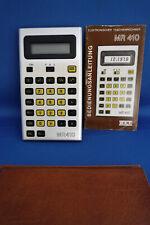 DDR Taschenrechner MR 410 mit Hülle