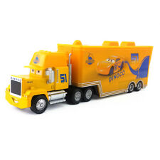 Disney Pixar Cars 3 Dinoco Cruz Ramirez's Hauler Truck Diecast Toy Car 1:55 New