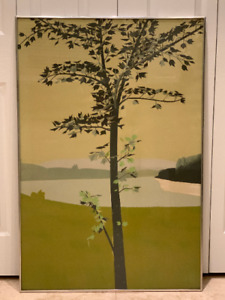Listed Artist Alex Katz Swamp Maple I Artist Proof Lithograph 1970 Edition of 84