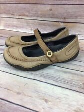Women's Patagonia Slip On Mary Jane Brown Comfort Leather Shoes 7.5