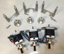 Proxxon MF70 CNC Kit Nema 17 Motoren Schrittmotor Handrad