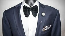 Black Velvet Bow Tie, Oversized Bow Tie, Big Black Bow Tie, Butterfly Bow Tie