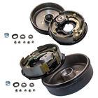Trailer 5 On 4.5 Hub Drum Brake Kit 10X2-1/4 Electric Brakes For 3500 lbs Axle