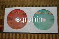 2 CDG DISCS SUPERSTAR COUNTRY KARAOKE - GARTH BROOKS,SHANIA TWAIN NEW CD+G