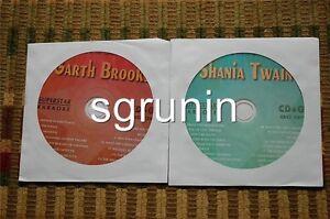2 CDG DISCS SUPERSTAR COUNTRY KARAOKE - GARTH BROOKS,SHANIA TWAIN NEW CD+G