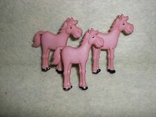 Funny Farm Animal HORSE Novelty Theme Buttons - Dress It Up - Sewing, Quilting.