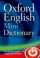 Oxford English Mini Dictionary: By Oxford Dictionaries