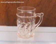 EAPG ☆ Beaded Swirl Mug by DUNCAN ☆ Pattern #335 ☆ Circa 1890