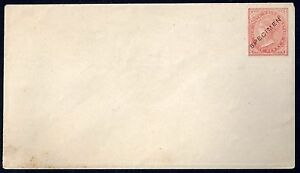 AUSTRALIA 1890 NEW SOUTH WALES ONE PENNY SPECIMEN POSTAL COVER