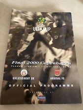 Arsenal v Galatasaray UEFA CUP FINAL 2000 (Copenhagen)