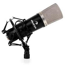 [B-WARE] XLR KONDENSATOR MIKROFON HOME STUDIO RADIO RECORDING BROADCAST SCHWARZ