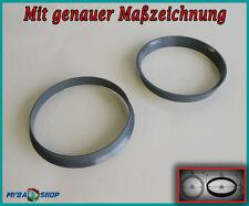 2x Zentrierringe 74,1 mm - 72,6 mm für BMW