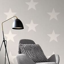 RASCH WHITE AND GREY STARS QUALITY FEATURE WALLPAPER RASCH 248128