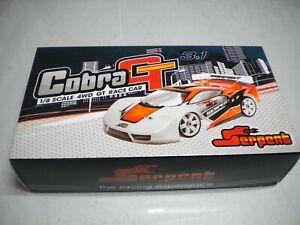 NIB SERPENT 1/8 Scale 4WD GT RACE CAR COBRA 811 GT 3.1 kit / FREE SHIPPING