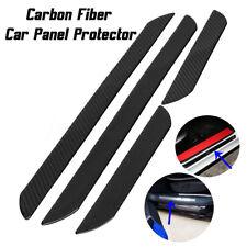 4Pcs 49cm Universal Carbon Fiber Car Scuff Plate Door Sill Cover Panel Protector