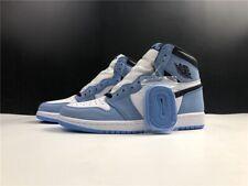 Air Jordan 1 Retro High White University Blue Black 555088-134 *US7 - US13*