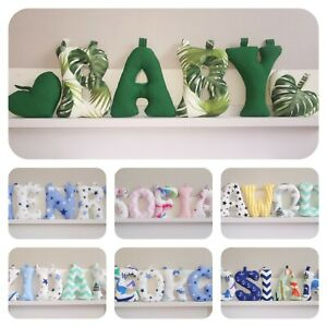 Fabric Letters, Name Banner, Nursery Decor, Personalised Baby Gift Idea