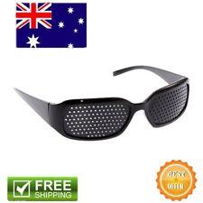 1X Vision Anti-fatigue Eyesight Care Glasses Improver Pinhole Exercise Black AZ