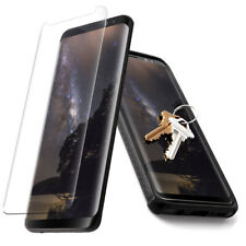 For Samsung Galaxy S8 Tempered Glass [Scratch-Resistant] Screen Protector -Clear