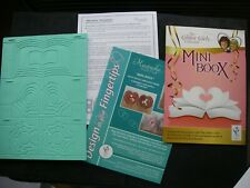 JOB LOT Keepsake MINI BOOX EMBOSSING BOARD + Project Book FREE Craft Clearout