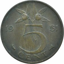 COIN / THE NETHERLANDS / 5 CENT 1951  #WT17360