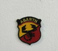 Abarth sports cars art badge Embroidered Iron or Sew on Patch