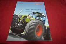 Claas 3800 3300 Xerion Tractor Brochure FCCA