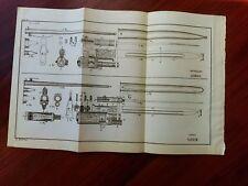 1892 Military Sketch Diagram Murata Japan Shmidt Swiss Rifle Bayenette