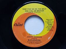 """KASANDRA - Don't Pat Me On The Back And Call Me Brother 1968 FUNK SOUL 7"""""""