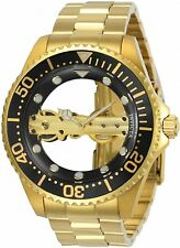 Invicta Men's 24694 Pro Diver Gold Ghost Bridge Mechanical Watch