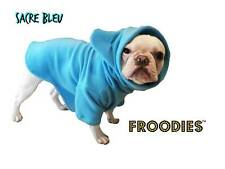 French Bulldog Boston Terrier Pug Dog Froodies Hoodies Turquoise Blue Coat