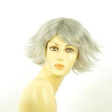 Perruque femme grise cheveux lisses ref  LOUNA 51