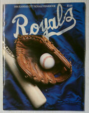 ROYALS 1984 OFFICIAL YEARBOOK SOUVENIR PROGRAM MAGAZINE VINTAGE MLB BASEBALL