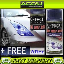 E-Tech Car Glass Plastic Lens Tail Light Lamp BLUE Tint Tinting 150ml Spray Can