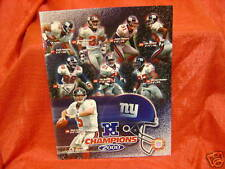 New York Giants 2000 NFC Champs Glossy 8x10 Photo NFL