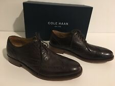 New Cole Haan Colton Wing.ox C20124 Leather Oxfords Size 8.5 Color Chestnut