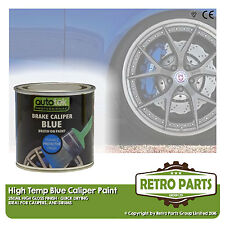 Blue Caliper Brake Drum Paint for Ford Focus. High Gloss Quick Dying
