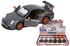 New 1:36 scale Die Cast Porsche Gt3 Rs RANDOM COLOR Pull Back Action