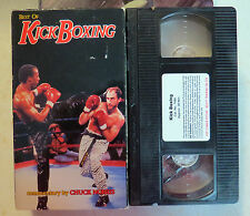 VHS: Best of Kick Boxing: Chuck Norris commentary kickboxing martial arts rare