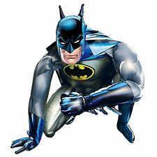 "Giant 36"" Batman Airwalker Foil Helium Balloon Figure Hero Size Figure Knight BN"