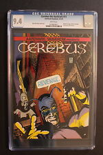 Cerebus the Aardvark #11 Dave Sim 1st Cockroach Tick? 1979 Vanaheim Cgc Nm 9.4