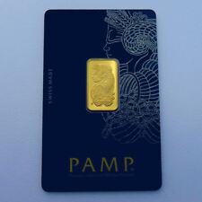 Pamp Suisse Fortuna 5 Gramm im Blister mit Zertifikat 999 Gold Goldbarren