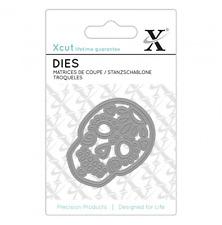 Xcut (Docrafts) - Mini Mexican Skull Metal Die Set - 1pc