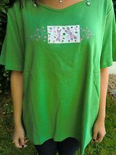 """""""Metty"""", Damen - T-Shirt, grün, Gr. 54/56, Baumwolle"""