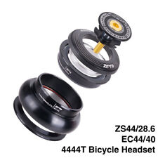 """Bicycle 44mm 1 1/8""""-1 1/2"""" Straight Tube Frame to Tapered Tube Fork 1.5 Adapter"""