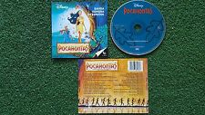 "POCAHONTAS ""Soundtrack In Spanish"" 1995 Spain CD Vanessa Williams JON SECADA"
