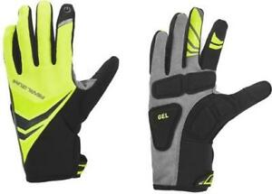 NEW! Pearl Izumi Elite Cyclone Gel Cycling Men's Gloves 14141605 Yellow Small