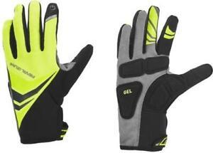NEW! Pearl Izumi Elite Cyclone Gel Cycling Men's Gloves 14141605 Yellow XX-Large